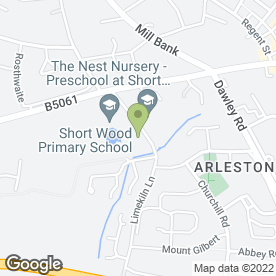 Map of Smiley Faces Day Nursery Ltd in Wellington, Telford, shropshire