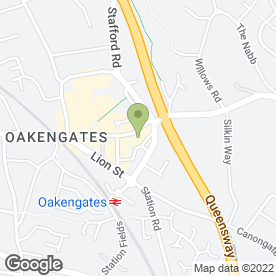 Map of Easy Happy in Oakengates, Telford, shropshire