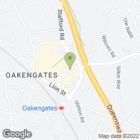 Map of Medivet Oakengates - Ashcroft Veterinary Centre in Telford, shropshire