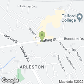 Map of Brandon Tool Hire in Wellington, Telford, shropshire