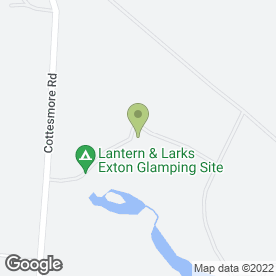 Map of Exton Park in Oakham, rutland