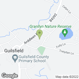 Map of Silver Service Taxis in Guilsfield, powys