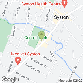 Map of LFI in Syston, Leicester, leicestershire