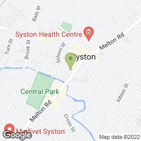 Map of Greggs in Syston, Leicester, leicestershire