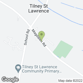 Map of Tilney St.Lawrence P.O in Tilney St. Lawrence, King's Lynn, norfolk
