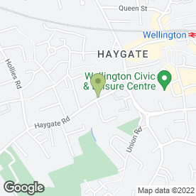 Map of HAIR E RAZOR in Wellington, Telford, shropshire