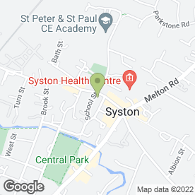 Map of HARBOROUGH PORTAS INDEPENDENT FINANCIAL ADVISERS in Syston, Leicester, leicestershire