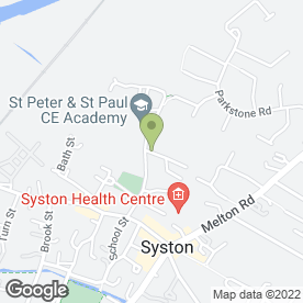 Map of St. Peter & St. Paul Pre-School in Syston, Leicester, leicestershire