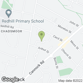 Map of Kendale Plastering Services in Cannock, staffordshire