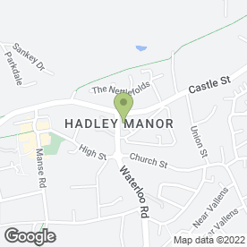 Map of A1 Bar Stuff Ltd in Hadley, Telford, shropshire