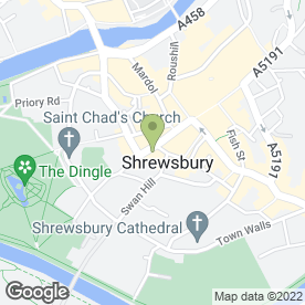 Map of Monks Estate Agents in Shrewsbury, shropshire