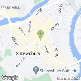 Map of Greggs in Shrewsbury, shropshire