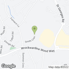 Map of Select Plumbing & Heating in Wrockwardine Wood, Telford, shropshire
