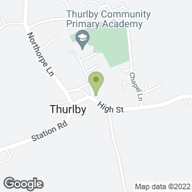 Map of ANIMATES VETERINARY CLINIC in Thurlby, Bourne, lincolnshire