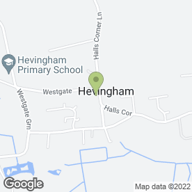 Map of Arrow Motorcycle Training in Hevingham, Norwich, norfolk