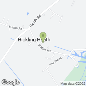 Map of Ian J Brooks in Hickling, Norwich, norfolk