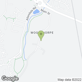 Map of Hortus in Woodthorpe, Loughborough, leicestershire