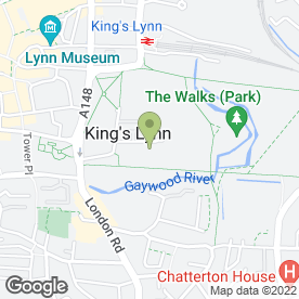 Map of S.Ashton Pest Control Services in King's Lynn, norfolk