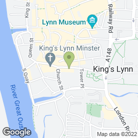 Map of Anglia Surveyors in King's Lynn, norfolk