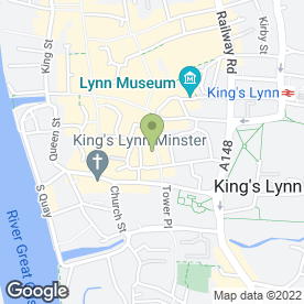 Map of Majestic Cinema in King's Lynn, norfolk