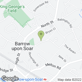Map of Fourfold Pre-School in Barrow Upon Soar, Loughborough, leicestershire