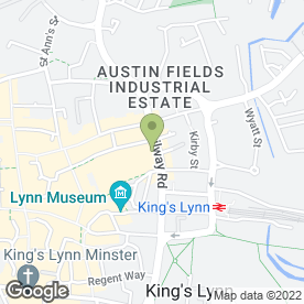 Map of Everybody in King's Lynn, norfolk