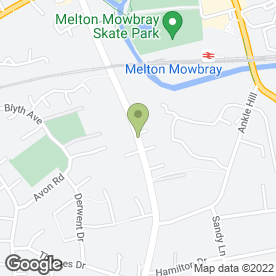 Map of Challenge in Melton Mowbray, leicestershire