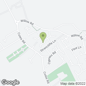 Map of The Professional Carpet Cleaner in Barrow Upon Soar, Loughborough, leicestershire