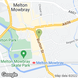Map of Scotts Domestic Appliance Repairs & Sales in Melton Mowbray, leicestershire