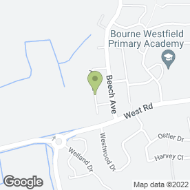 Map of KC Home Revive in Bourne, lincolnshire
