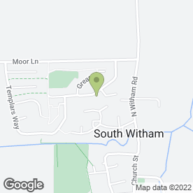 Map of PLBlinds in South Witham, Grantham, lincolnshire