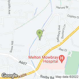 Map of Wymondham Dog Clips in Melton Mowbray, leicestershire