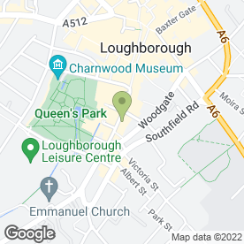 Map of George Hill Ltd in Loughborough, leicestershire