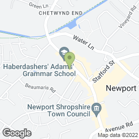 Map of David Lloyd Jewellers in Newport, shropshire