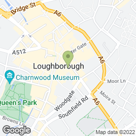 Map of JR PERSONNEL in Loughborough, leicestershire