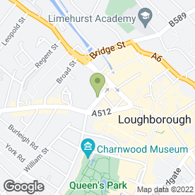 Map of Response Property Services Ltd in Loughborough, leicestershire