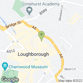Map of Fair Trading Loughborough in Loughborough, leicestershire