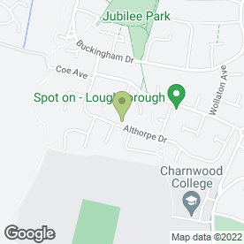 Map of PDV Joinery in Loughborough, leicestershire