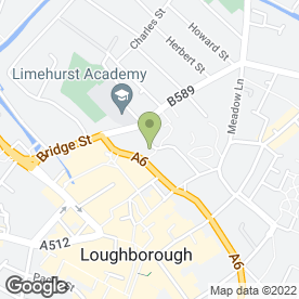 Map of Straw & Pearce Solicitors in Loughborough, leicestershire