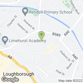 Map of AutoWerke Garage Services in Loughborough, leicestershire