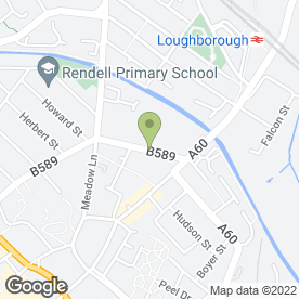 Map of Peugoet - Arthur Prince in LOUGHBOROUGH, leicestershire