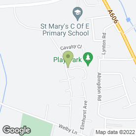 Map of Melton Guitar Tuition in Melton Mowbray, leicestershire