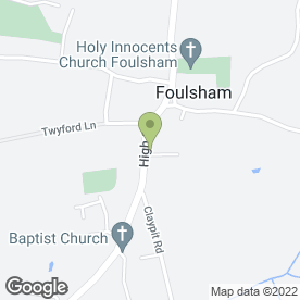 Map of Complete Car Care in Foulsham, Dereham, norfolk