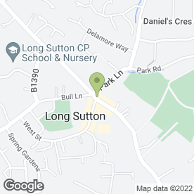 Map of USA Fried Chicken in Long Sutton, Spalding, lincolnshire