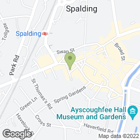 Map of Cosmetique in Spalding, lincolnshire