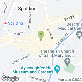 Map of Lloyds TSB Business Banking in Spalding, lincolnshire