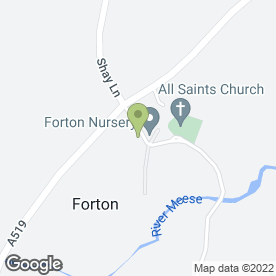 Map of Forton Nursery Group in Forton, Newport, shropshire