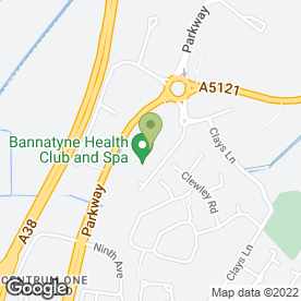Map of Apex Physiotherapy in Burton-On-Trent, staffordshire