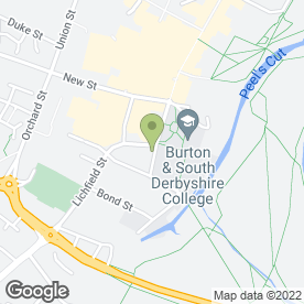 Map of Dunelm Mill in Burton-On-Trent, staffordshire