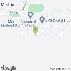 Map of Mobile Vehicle Valeting Services in Morton, Bourne, lincolnshire